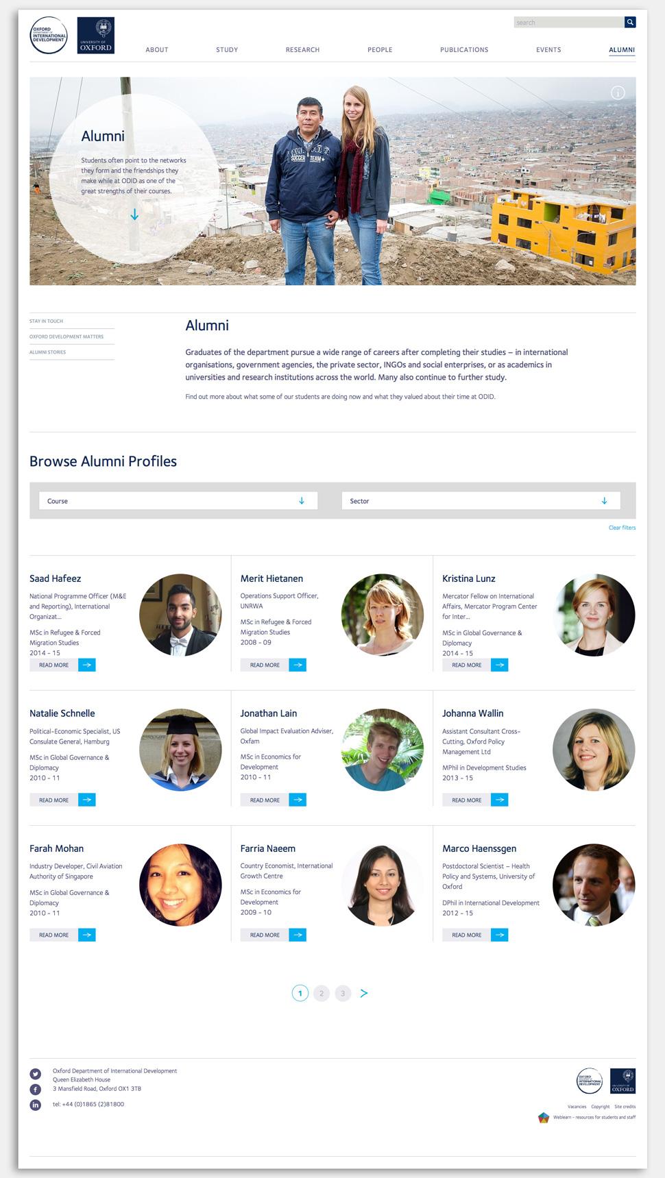 odid-alumni-website-design
